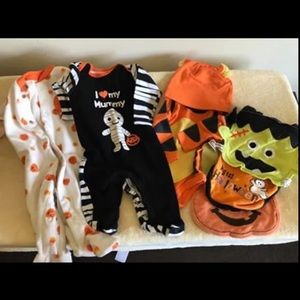 3 month old Halloween outfit lot